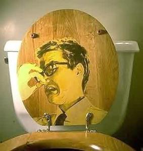 stinky toilet