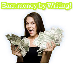 writing money