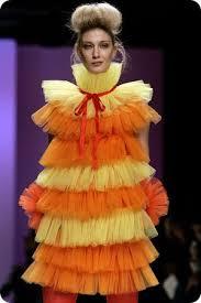 No fashion for you, Gilda.