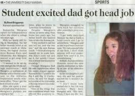 Student newspaper fail.