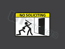 nosoliciting