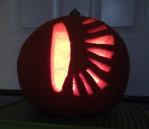 """""""Illuminating the natural world...and the porch, for trick-or-treaters."""""""