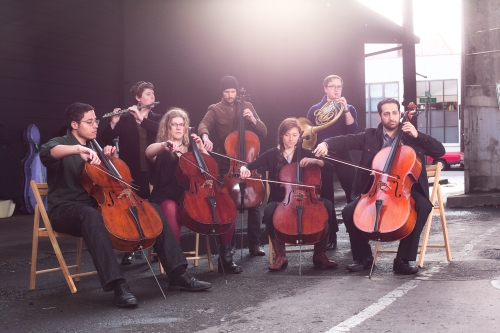 Do these ginormous violins make our butts look big?