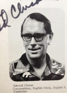 Ted Clucas, ca. 1975.