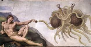 Let not thy noodly appendage pass by your most unworthy servant.