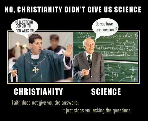 Christianity vs. Science