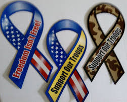 "Feeling guilty about sending young Americans to fight overseas while you stay at home enjoying the comforts of your LazyBoy ® ? Not to worry, saying ""Thank you for your service,"" to a soldier in uniform, plus sticking any of these decals on your vehicles is the equivalent of serving one tour of duty in Dumbfuckistan and crafting a rational foreign policy."