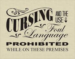 cursing