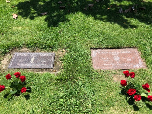 their headstones